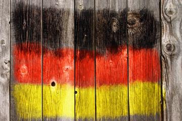 Wall Mural - schwarz rot gold