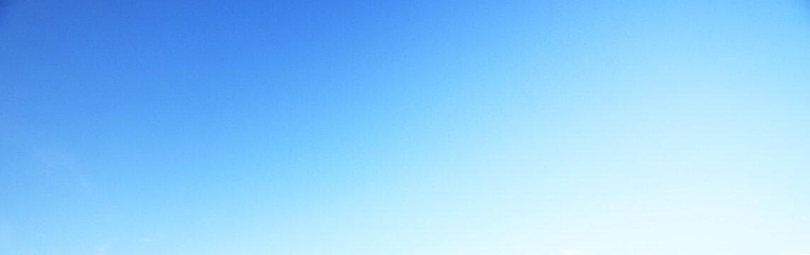 Blue sky background no cloud, soft focus.