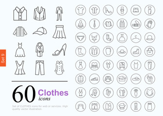 60 clothes icons