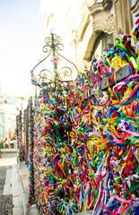 Fitas do Bonfim Brazilian wish ribbons/bracelets