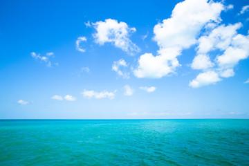 Wall Mural - Beautiful tropical ocean and sky