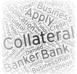 Collateral,Word cloud art background