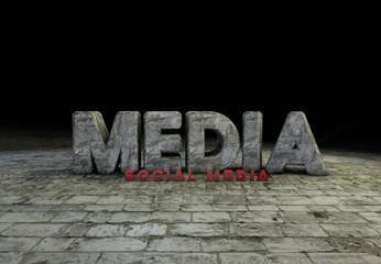 Media, Social Media, 3D
