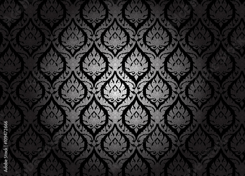 Thai Design Wallpaper : Thai style pattern wallpaper