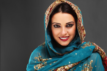 Beautiful arabic woman