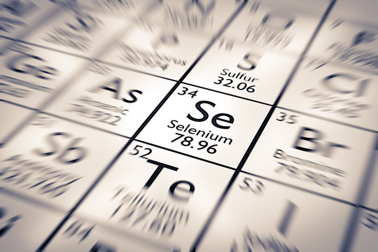 Focus on Selenium Chemical Element from the Mendeleev Periodic Table
