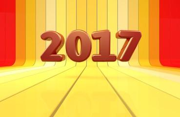 2017, 3D Typography