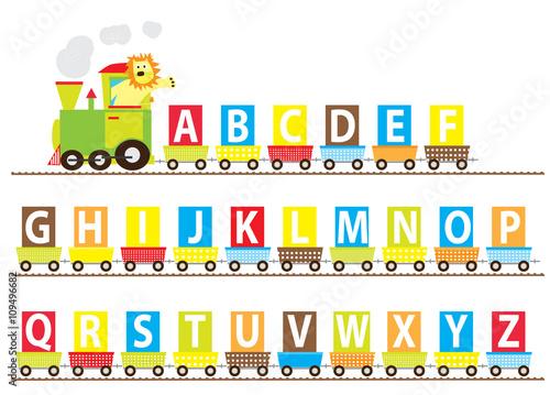 Learn Abcd for kids with ABC train cartoon #kids #learn ...