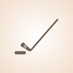 Icon Of Ice Hockey.