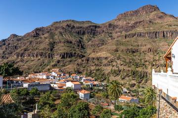 Fataga Village In Barranco de Fataga-Gran Canaria