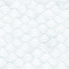 repeatable seamless graphic background with waves