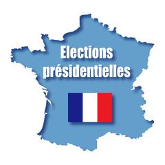 Elections présidentielles. France.