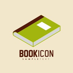book icon  design