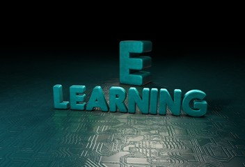 e-Learning, 3D Typography