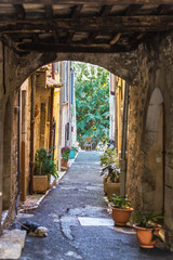 Deurstickers Marokko Beautiful street