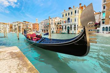 Foto auf Acrylglas Gondeln Venice, Italy.
