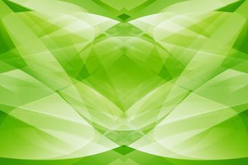 Hintergrund abstrakt Linien Wellen künstlerisch grün