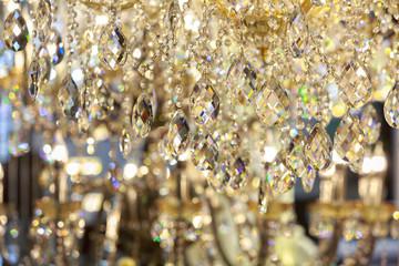 Crystal chandelier