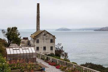 Alcatraz prison near San Francisco