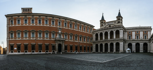 Lateran Palace in Rome, Italy