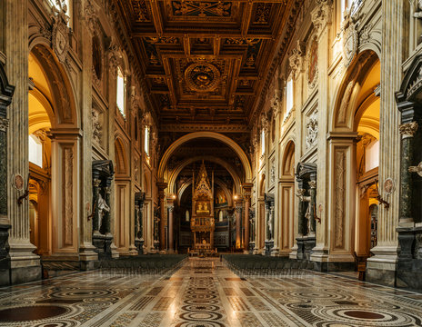 Papal Archbasilica of St. John in Rome, Italy