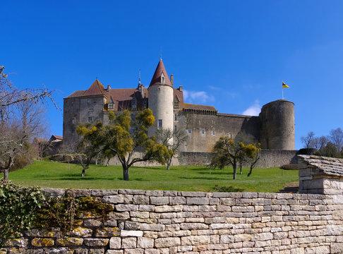 Chateauneuf-en-Auxois Chateau - Chateau Chateauneuf-en-Auxois in France