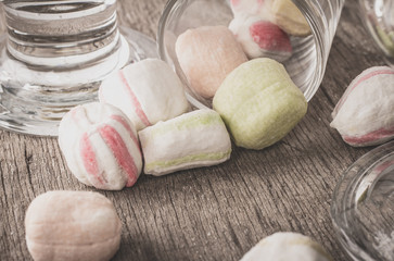 Sweets on a table.