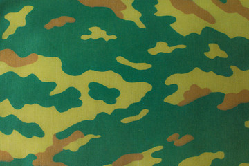 Fabrics with camouflage pattern