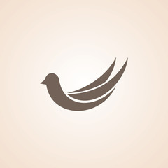 Icon Of Bird.