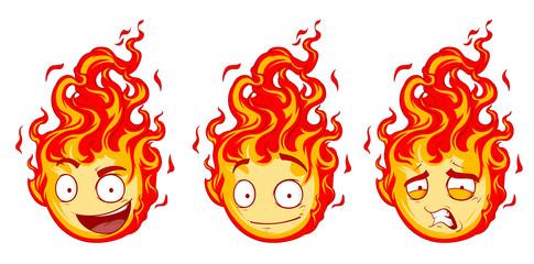 Fire smiles Set