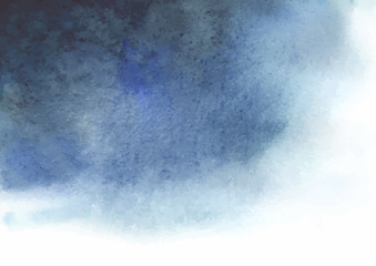 Watercolor blue gray abstract background