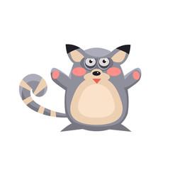 Lemur Funny Illustration