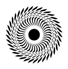Sacred geometry - Sun symbol