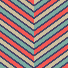Retro Chevron Pattern Background