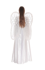 Angel standing from back 1.