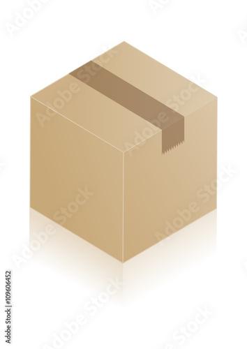 carton d 39 emballage vecteur immagini e vettoriali royalty free su file 109606452. Black Bedroom Furniture Sets. Home Design Ideas
