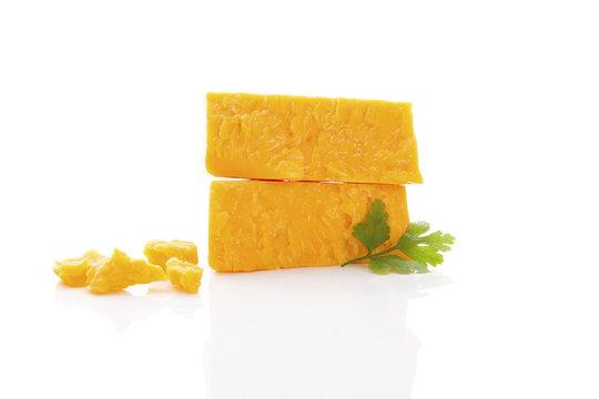 Delicious cheddar cheese.