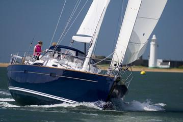 MV Moody Sailing Yacht Lighthouse