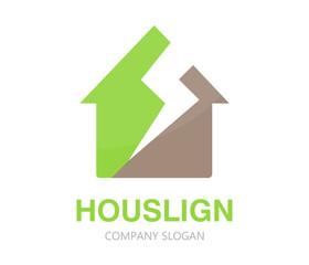 House logo design template