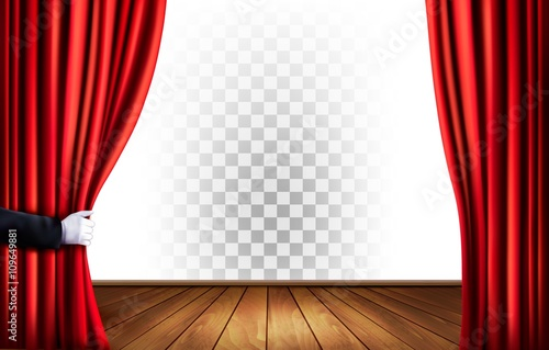 Curtains Ideas curtains background : Theater curtains with a transparent background. Vector.