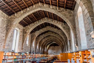 La bibliothèque de Catalunya