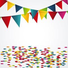 Happy birthday design. confetti icon. celebration concept