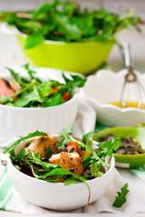 chicken  and pumpkin salad