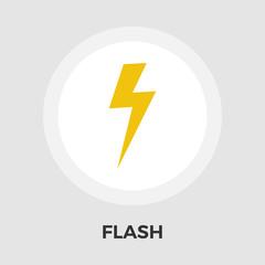 Lightning flat icon