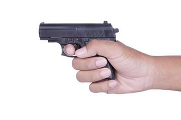 Hand hold gun