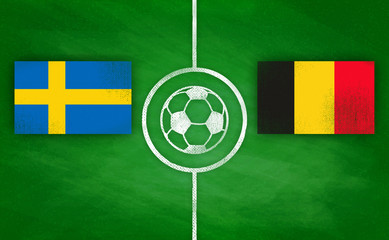 Schweden vs. Belgien / Sweden vs. Belgium