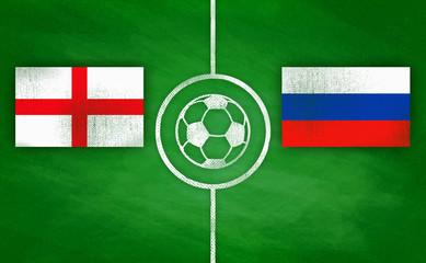 England vs. Russland / England vs. Russia