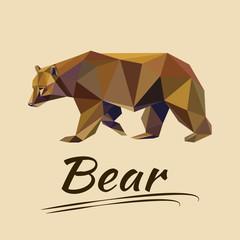 Lowpoly bear