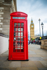 Telefonzelle London Big Ben