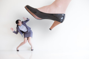 fear business woman
